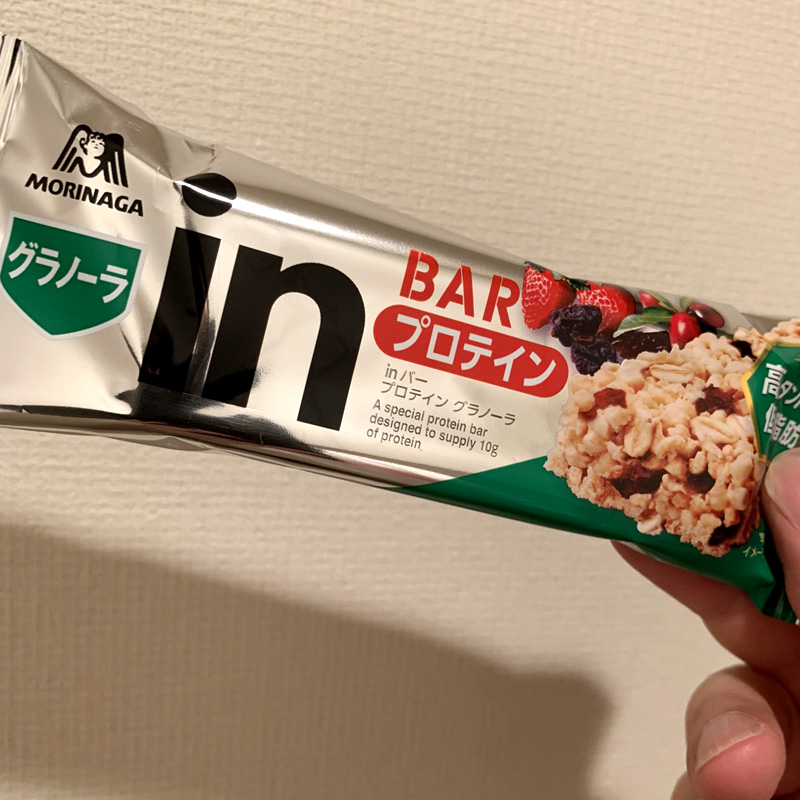 森永製菓 inバー プロテイン グラノーラ