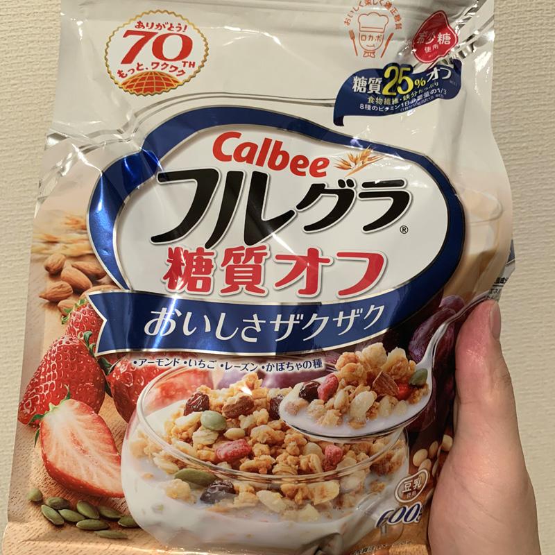 Calbee フルグラ 糖質オフ