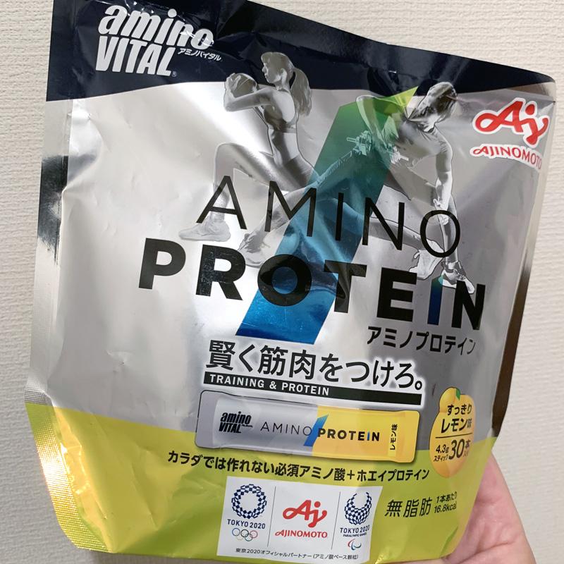 アミノバイタル® アミノプロテイン レモン味