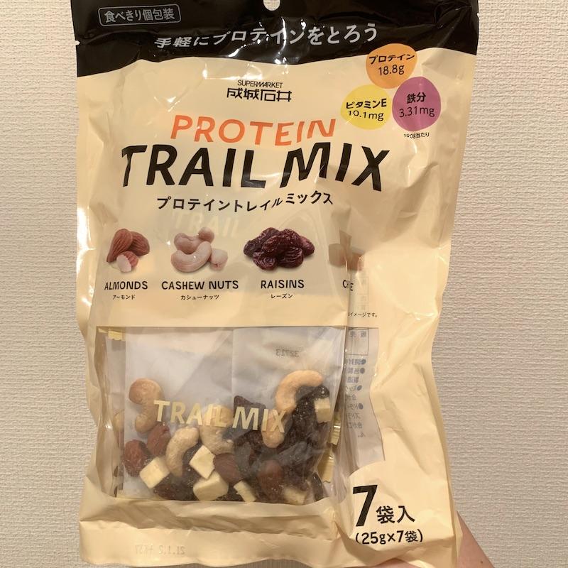 成城石井 トレイルミックス プロテイン 25g×7